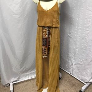 Judith March maxi halter dress size small.